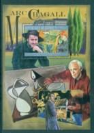 Guinee 2012 Art, Painting, Marc Chagall MS MUH GU12118b - Guinée (1958-...)
