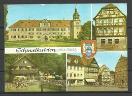 Deutschland Ansichtskarte SCHMALKALDEN Thür. Wald - Schmalkalden
