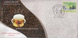 India  2018  Coffee  Kumbakonam Degree Coffee  KUMBAKONAM  Special Cover   #  14996    D Inde Indien - Food