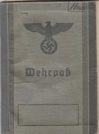 Wehrpaß, Gefreiter Mit Schreiben über Heldentod1943 - Besetzungen 1938-45