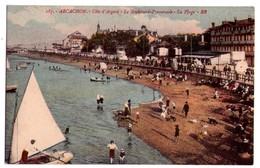 2559 - Arcachon ( 33 ) - Côte D'Argent - Le Boulevard Promenade ( La Plage ) - N°187 - B.R. - - Arcachon