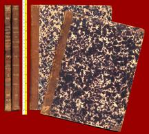 M3-33357 Greece 1868. Newspaper Of The Greek Parliament. 2 Large Volumes. - Books, Magazines, Comics