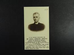 Abbé Armand Spruyt Anvers 1899 Bruxelles 1943 /030/ - Images Religieuses