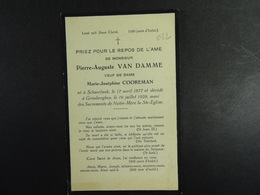 Pierre Van Damme Vf Cooreman Schaerbeek 1877 Grimbergen 1928 /032/ - Images Religieuses