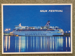 SILJA LINE SILJA FESTIVAL OFFICIAL - Fähren