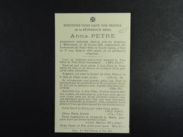 Révérende Mère  Watermael 1946 Anna Petre /035/ - Images Religieuses