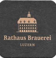 Schweiz: Rathaus Brauerei Luzern - Beer Mats