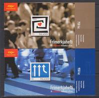 Europa Cept 2006 Iceland 2 Booklets With Self Adhesive Stamps  ** Mnh (40507A) - 2006