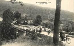 ENVIRONS D'ORGELET - Le Pont De Brillat. (une Moto) - Orgelet