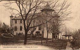 CHAMBORIGAUD CHATEAU DE CROUZAS - Chamborigaud