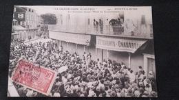 CPA Guadeloupe Illustrée - Pointe à Pitre - Les Grévistes Devant L'Hotel Du Gouvernement - Pointe A Pitre