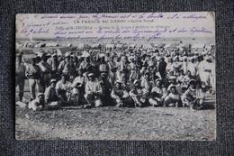 Militaria - Campagne Du MAROC, AIN FRITISSA - Bivouac De La Section D'Artillerie De Montagne. - Guerres - Autres