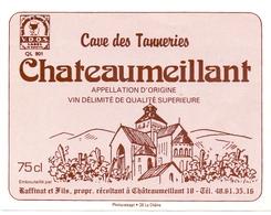 Etiket Etiquette - Vin - Wijn - Chateaumeillant - Caves De Tanneries - Rouges