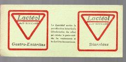 Buvard LACTEOL (pharmacie) (PPP9188) - Chemist's