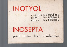 Buvard INOTYOL / INOSEPTA (pharmacie) (PPP9189) - Chemist's