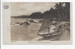 Colombo Catamarans - P & O Publicity - Undivided Back - Sri Lanka (Ceylon)