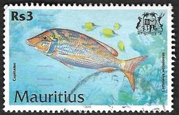 MAURICE -  Mauritius  2000  - YT  949 - Lethrinus - Capitaine  - Oblitéré - Maurice (1968-...)