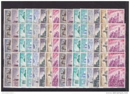 España Nº 1738 Al 1745 - 10 Series - 1961-70 Unused Stamps
