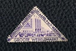 BELGIE -VIGNETTE - INTERNATIONALE JAARBEURS BRUSSEL. - Postage Labels