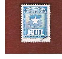 CILE (CHILE)  -   TAX STAMPS SG T646  -    1971  POSTAL MODERNIZATION    -     USED ° - Cile