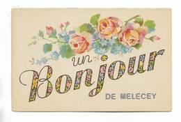 70 - Un Bonjour De MELECEY - Other Municipalities