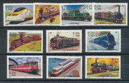 France N°3405 à 3414** Série Jeunesse - Trains - Trains