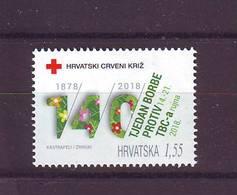 Croatia 2018 Y Charity Stamp Tuberculosis TBC MNH - Kroatië