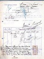 Mersine RARE Fiscal Document 1909 (FT-11b) - 1858-1921 Ottoman Empire