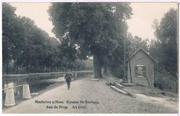 Mechelen A/Maas - Eysden St- Barbara - Aan De Brug   (Geanimeerd) - Maasmechelen