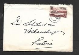 S.Africa, 1 1/2d Natal Settlers On Cover, LANGEBAANWEG  15 V 49 C.d.s. >Pretoria. - South Africa (...-1961)