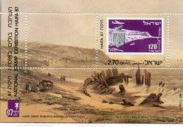 ISRAEL BLOC N° 35 1987 NEUF MNH EXHIBITION HAIFA - Blocs-feuillets