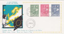 FDC Bureau Européen De La Jeunesse Et De L'Enfance - 1953 - Timbres N° 927/9 - Côté 105€ - 1951-60