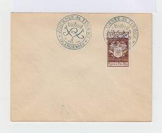 Enveloppe Oblitérée Journée Du Timbre 9 Décembre 1944. Valenciennes. (659) - Guerre De 1939-45