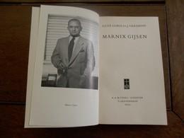 Boek Over  Marnix Gijsen  Met Zijn Handtekening    1955 - Books, Magazines, Comics
