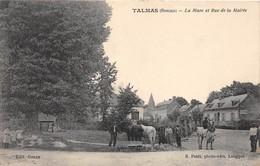 80-TALMAS- LA MARE ET RUE DE LA MAIRIE - France