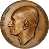 France, Médaille, Médecine, Docteur René Puig, Perpignan, 1963, Paredes, SPL - France