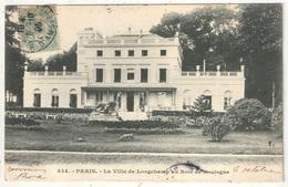75 - PARIS 16 - La Villa De Longchamp Au Bois De Boulogne - 1905 - Arrondissement: 16