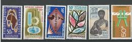 Gabon: PA 18 - 23 - 38 - 48 - 50 - 69 ** - Gabon (1960-...)