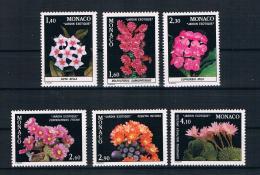 Monaco 1981 Pflanzen Mi.Nr. 1506/11 Kpl. Satz ** - Nuevos