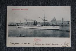 """MARSEILLE - Le Paquebot """" YARRA """" Des Messageries Maritimes. - Steamers"""