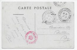 Army Post Office 42 - On PC Herme (77) - Postmark Collection
