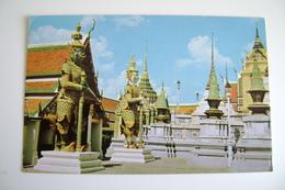Thailand Temple   THAILAND ASIA    VIAGGIATA  COME DA FOTO - Tailandia