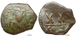 Empire Byzantin - Phocas (23/11/602-5/10/610) - Demi-follis, 603, Constantinople - Byz0025 - Byzantines