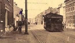 Flémalle-Haute - Chaussée Des Alliés (animée, Tram Tramway, Légia, Edit. J. Chapelier) - Flémalle