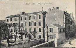 16 ANGOULEME COLLEGE DE JEUNES FILLES - Angouleme