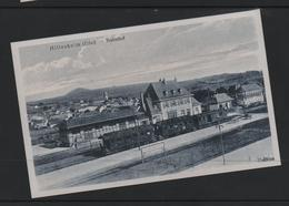 REPRODUCTION  HILLESHEIM ALLEMAGNE GARE STATION BAHNHOF Train Trein - Germany