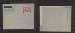 Gambia, GVIR, 1939, 6d, AIR LETTER, Stamped Postal Stationery, Unused - Gambia (...-1964)