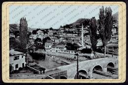 Cabinet Photo Sarajewo / Sarajevo Bosnia Partie Alifakovac RARE (3318) - Lieux
