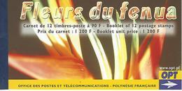 POLYNESIA, 2004, Booklet / Carnet 9   Flowers / Fleurs Du Fenua - Markenheftchen