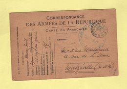 Tresor Et Postes 94 - 1er Groupe D Aeorestier - 1916 - Sapeur Telegraphiste - Marcofilie (Brieven)